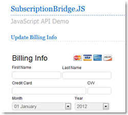 subscription billing API